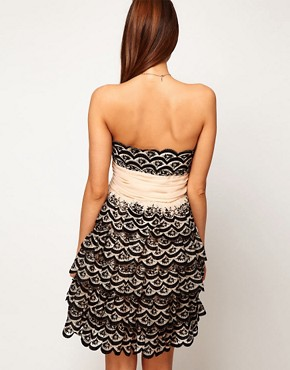 Image 2 ofASOS Prom Dress with Scalloped Edge