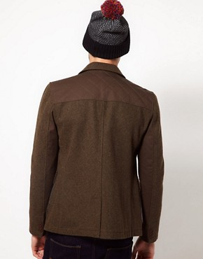 Image 2 ofASOS Wool Hunting Jacket
