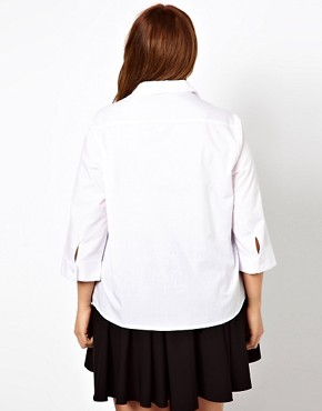 Image 2 ofASOS CURVE Classic Shirt