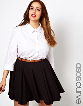 Image 1 ofASOS CURVE Classic Shirt