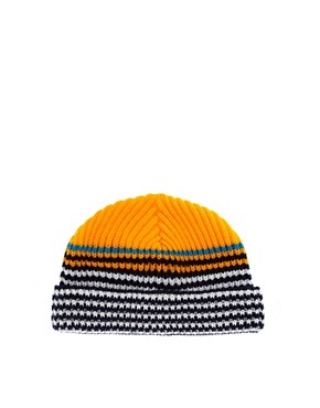 Image 1 ofASOS Stripe Tiny Beanie