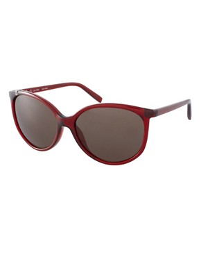 Image 1 ofCk by Calvin Klein Round Frame Sunglasses