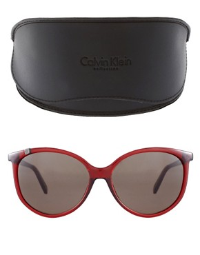 Image 2 ofCk by Calvin Klein Round Frame Sunglasses
