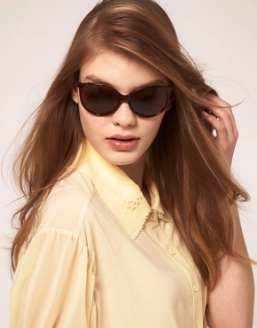 Image 3 ofCk by Calvin Klein Round Frame Sunglasses