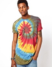 Altamont T-Shirt Spiral Tie Dye