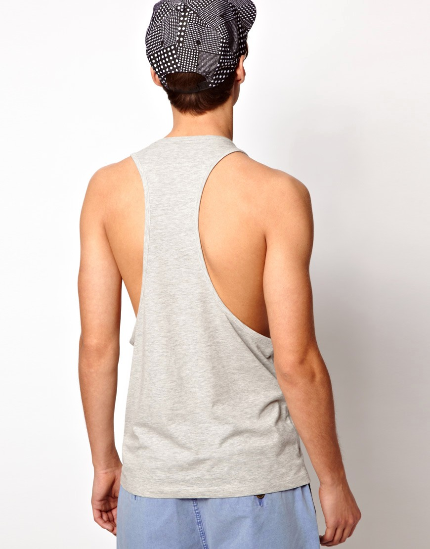 Image 2 of ASOS Vest With Contrast Pocket