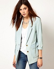 Levi&#39;s Soft Chambray Blazer