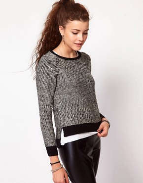 Image 1 ofVero Moda Textured Jumper
