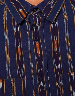 Image 3 of10 Deep Shirt Ikat Nelson Print