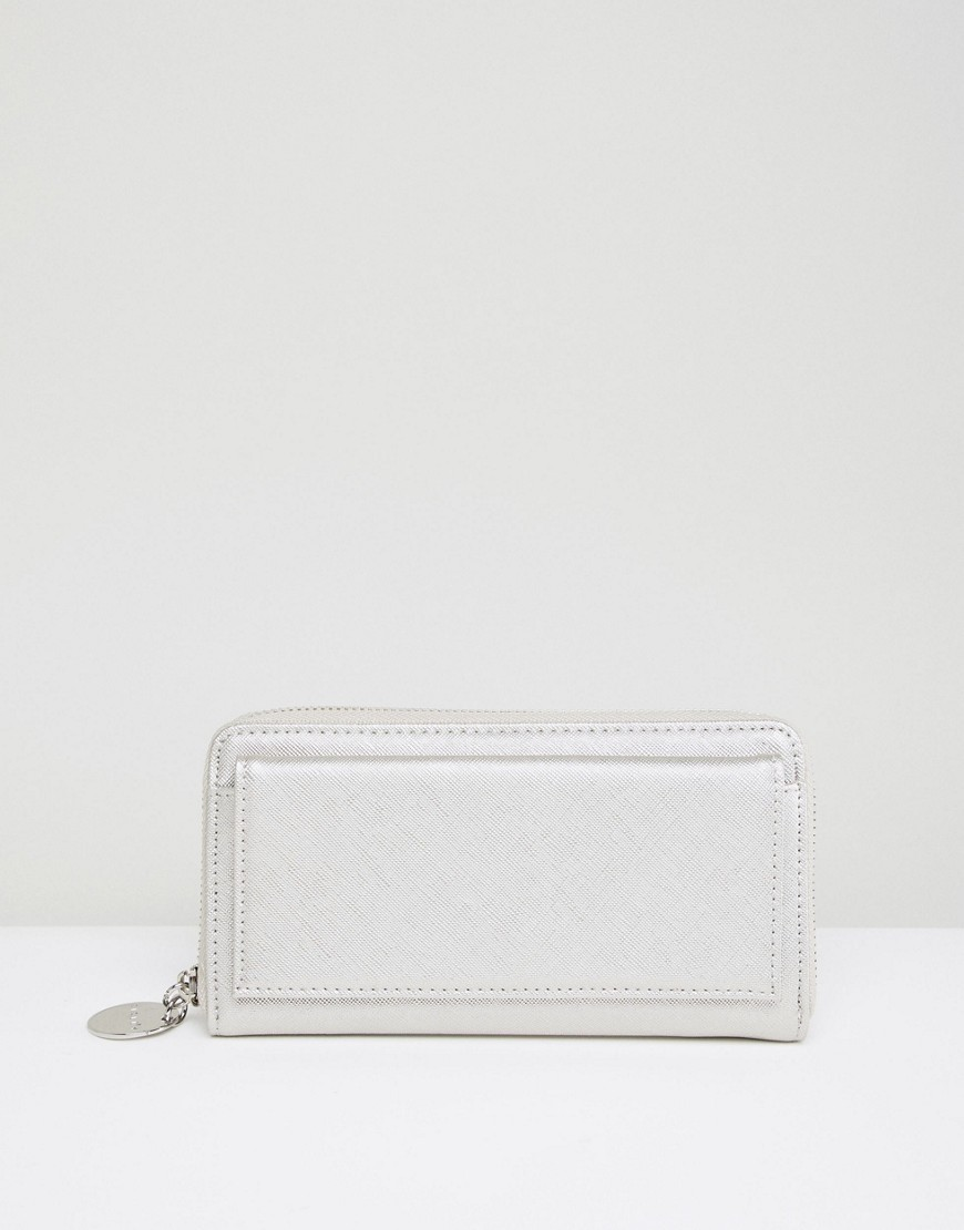 Sisley Large Purse - Silver
