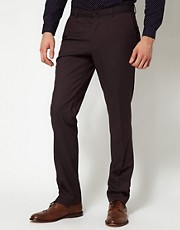 Pantalones de corte slim de Peter Werth