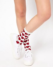 Pieces 2 Pack Heart &amp; Star Ankle Socks