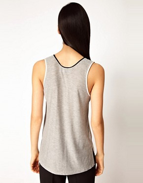 Image 2 ofAntipodium Playpal Vest in Silk Crepe De Chine