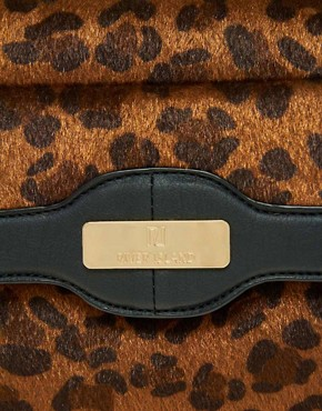Image 2 of River Island Leopard Box Bag