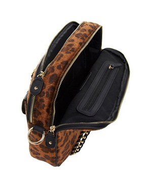 Image 4 ofRiver Island Leopard Box Bag