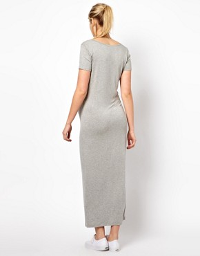 Image 2 ofASOS Maternity Maxi Dress With  T-Shirt Sleeve