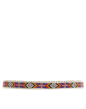 Image 2 ofRiver Island Beaded Tribal Belt