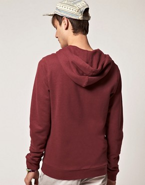 Image 2 ofASOS Hoodie With Varsity Print