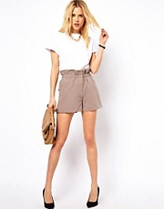 ASOS Shorts with Ruched Waistband