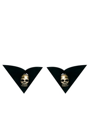 Image 2 ofTally &amp; Hoe Skull Collar Tips