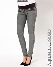 ASOS Maternity Super Sexy Skinny Jean in Acid Wash