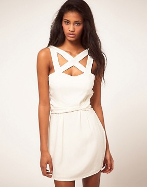 Image 1 ofFinders Keepers Future Love Strapping Dress