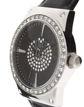 Image 4 ofD&amp;G Leather Watch