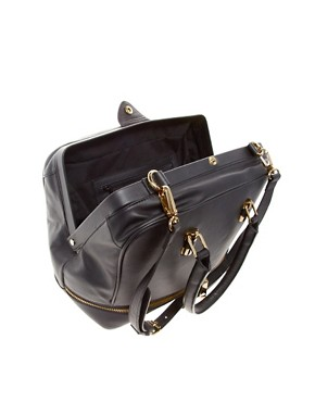 Image 2 ofASOS Leather Doctors Bag