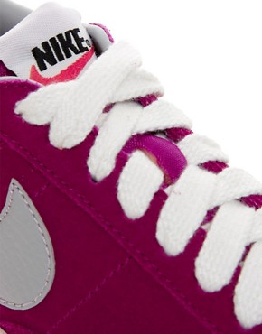 Image 4 ofNike Blazer Low Fuschia Trainers