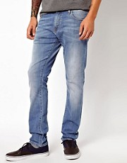 Carhartt Jeans Rebel Super Slim Mid Wash