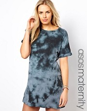 ASOS Maternity Dress in Tie Dye
