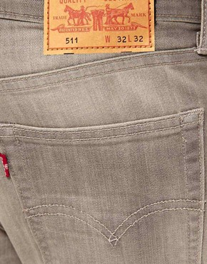 Image 4 ofLevi&#39;s Jeans 511 Slim Fit Gray Day