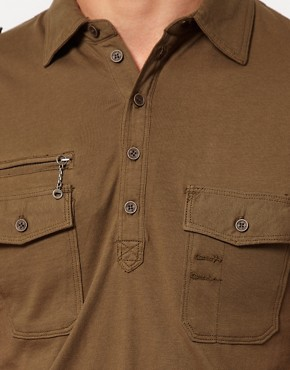 Image 3 ofDiesel Military Polo Shirt