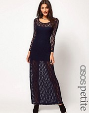 ASOS PETITE  Exklusives Maxikleid aus Spitze
