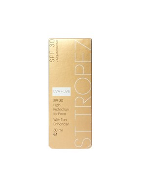 Image 2 of St Tropez SPF 30 Face With Tan Enhancer 50ml