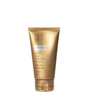 Image 1 ofSt Tropez SPF 30 Face With Tan Enhancer 50ml