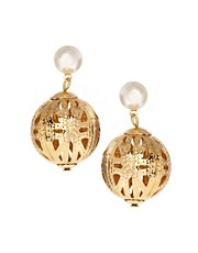 ASOS Filigree Ball Drop Earring