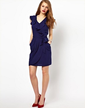 Image 4 ofA Wear Wrap Front Dress