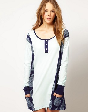 Image 1 ofAlas Exclusive To ASOS Rain Nightie In Organic Cotton With Gift Pack