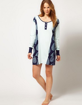 Image 4 ofAlas Exclusive To ASOS Rain Nightie In Organic Cotton With Gift Pack