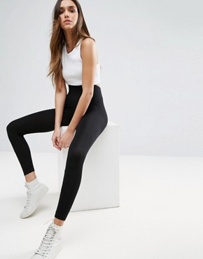ASOS Leggings With Deep Waistband