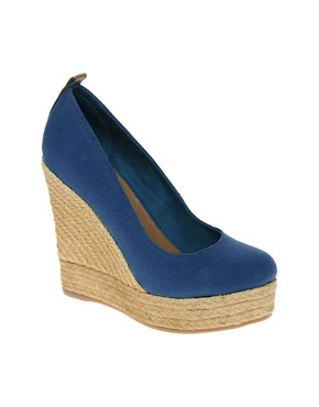 Image 1 ofALDO Drewel Espadrille Platform Wedge Shoes