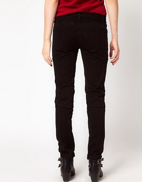 Image 2 ofIRO Biker Jeans