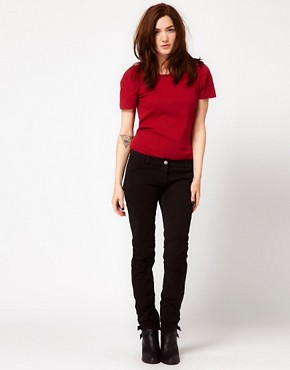 Image 4 ofIRO Biker Jeans