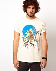Lightning Bolt - Tiger - T-shirt