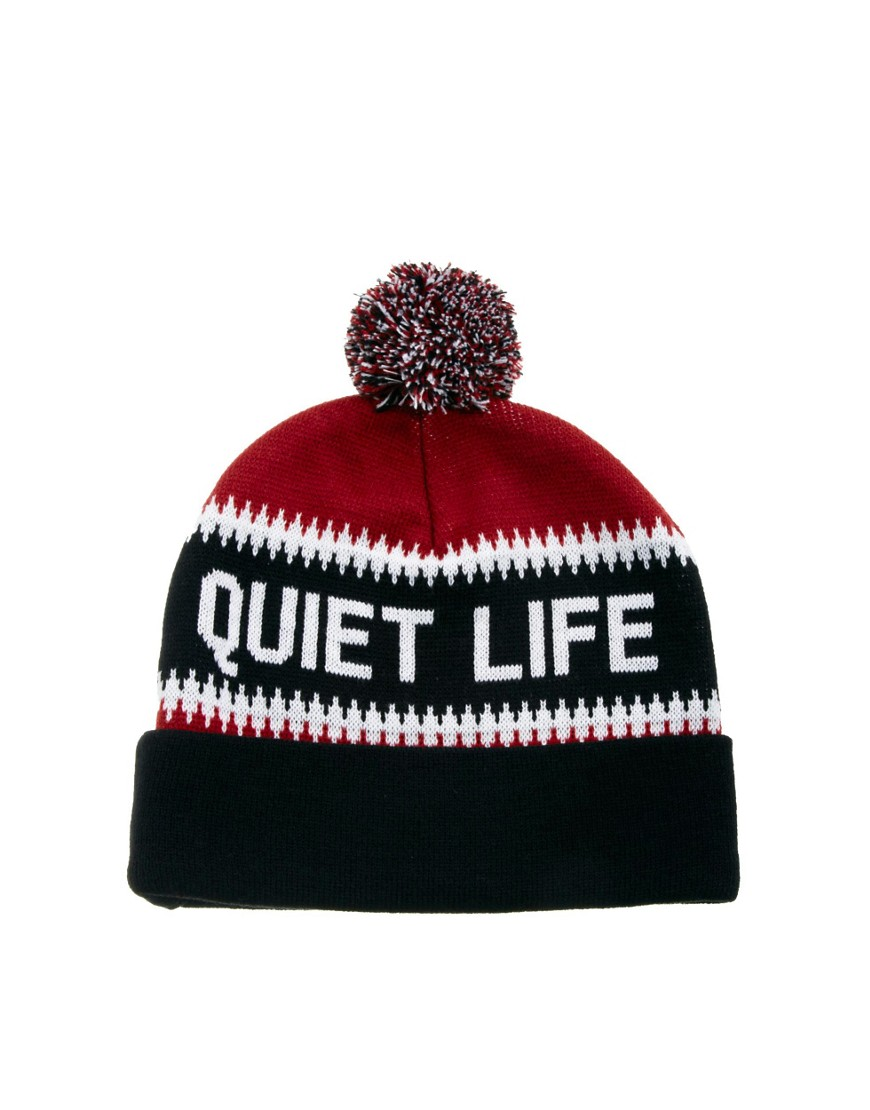 Image 2 of The Quiet Life Flake Bobble Hat