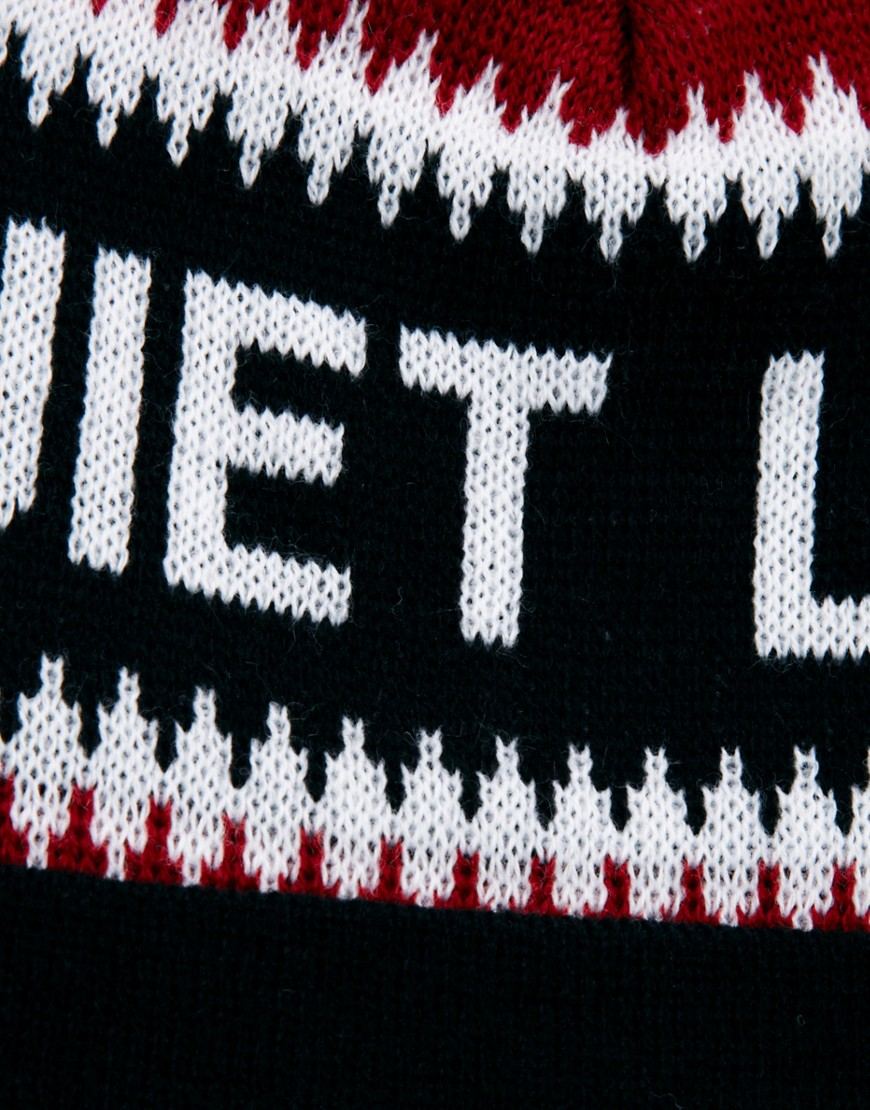 Image 3 of The Quiet Life Flake Bobble Hat