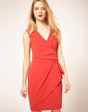 Image 1 ofCoast Bright Wrap Front Dress