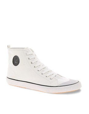 Image 1 ofCheap Monday Birdman Hi-Top Plimsolls