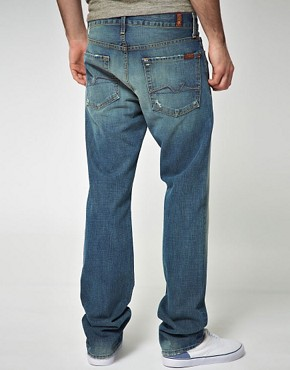 Image 2 of 7 For All Mankind Slimmy Jeans